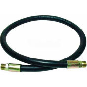 "Apache Hydraulic Hose Assembly 98398342, 100R2AT Cpld., 3500 PSI, 1/2"" MNPT, 1/2"" Hose ID X 144""L"