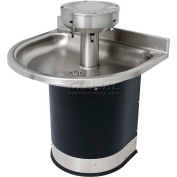 Acorn Washfountain Semi-Circular, 3 Stations, Sensor Operated