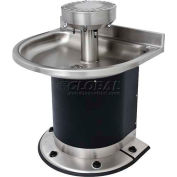 Acorn Washfountain Semi-Circular, 4 Stations, Foot Operated