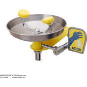 Acorn Safety Eye/Face Wash, Wall Mounted, Stainless Steel Bowl, S0440