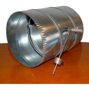 "14"" Barometric Relief Damper w/ Weighted Arm"