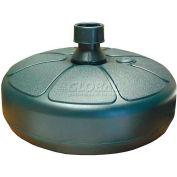Adams® Resin Umbrella Base, Hunter Green (Sold in Pkg. Qty of 6) - Pkg Qty 6