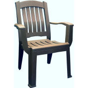 Brentwood Dining Chair, Earth Brown Package Count 12 by Dining Room Chairs