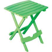 Adams® Quik Fold Side Table, Summer Green