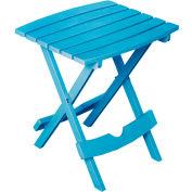 Adams® Quik Fold Side Table, Pool Blue