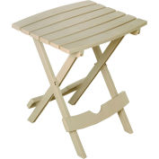 Adams® Quik Fold Side Table, Desert Clay