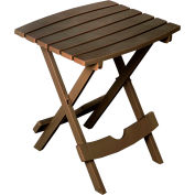 Adams® Quik Fold Side Table, Earth Brown