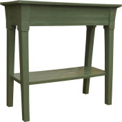 "Adams® 36"" Deluxe Garden Planter w/ Shelf, Sage"