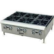 "Adcraft Black Diamond BDCTH-24 - Hotplate, Heavy Duty, Natural Gas, 100,000 BTU, 24""W, 4 Burners"