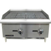 "Adcraft Black Diamond BDECTC-36/NG - Charbroiler, Standard, Natural, 180,000 BTU, 36""W, 6 Burners"