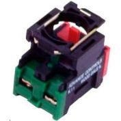 22mm Non Metallic, Non Illuminated, Individual Contact Block - 1NOrmally Closed + 1NOrmally Open