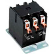 Definite Purpose Contactors, DPA Series, 25 Amp, 3 Pole, Coil 120VAC