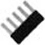 Advance Controls 140073, Comb Style Fixed Jumper, K Series, KUT 4, 10 Pole