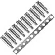 Advance Controls 140204, Screw Sleeve, Use For Terminal Block, K/U Series, KUT 4