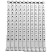 Advance Controls 140233, Marking Tags For Terminal Block, KC Series, Numerals By Hundreds, 101-200