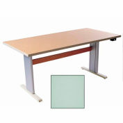 """Infinity™ Powered Height Adjustable Activity Table - 60""""L x 24""""W Gray"""