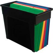 Advantus® Desktop File Box, Black - Pkg Qty 5
