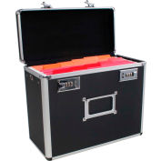 """Advantus® Metal Locking Letter-Size File Box 63006 - 13-3/4""""L x 7-1/4""""W x 12-1/2""""H - Pkg Qty 2"""