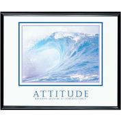 "Attitude (Wave), Framed, 30"" x 24"""
