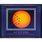 """Attitude (Jets) Framed, 30"""" x 24"""""""