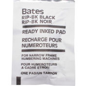 Advantus® Ready-Inked Pad, For Standard and Dropped Cipher Numbering Machines, Black - Pkg Qty 12