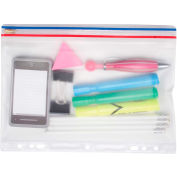 "Angler's® Pocket, Ring Binder, Zip-All, Clear, 8 ½"" x 11"" - Pkg Qty 24"