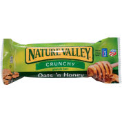 Nature Valley® Crunchy Granola Bar, Oats & Honey, 1.5 Oz., 2-bar Pouches, 18 Pouch Box - Pkg Qty 6