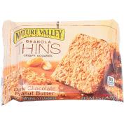 Nature Valley® Granola Thins Crispy Squares, Dark Chocolate Peanut Butter, 0.6 Oz., 15 Sq. Box - Pkg Qty 12