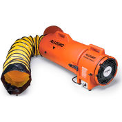 """Allegro COM-PAX-IAL Blower With 15' Duct & Canister 9533-15, 8"""" Dia., 1/3HP, 831 CFM"""