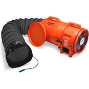 Allegro 9548-25 12 Inch  Axial Explosion-Proof (EX) Plastic Blower w/ Canister & 25' Ducting