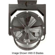"Americraft 18"" TEFC Alum Propeller Fan W/ 2 Way Swivel Yoke 18DA-1/41Y-3-TEFC-1/4 HP 3050 CFM"