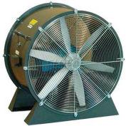"Americraft 24"" TEFC Aluminum Propeller Fan With Low Stand 24DAL-1/3L-3-TEFC 1/3 HP 5300 CFM"