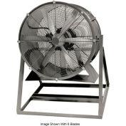 "Americraft 24"" Steel Propeller Fan With Medium Stand 24DSL-1/2M-3-TEFC 1/2 HP 6060 CFM"