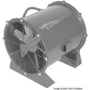 "Americraft 24"" Steel Propeller Fan With Low Stand 24DSL-1/4L-3-TEFC 1/4 HP 4900 CFM"