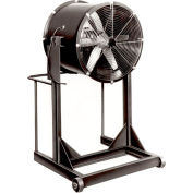 """Americraft 30"""" Steel Propeller Fan With High Stand 30DS-1H-1-TEFC 1 HP 10400 CFM"""