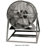 "Americraft 36"" TEFC Aluminum Propeller Fan With Medium Stand 36DA-3M-3-TEFC 3 HP 18500 CFM"