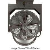 """Americraft 36"""" EXP Alum Propeller Fan W/ 1 Way Swivel Yoke 36DAL-11Y-1-EXP-1 HP 13000 CFM"""