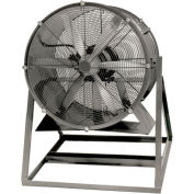 "Americraft 48"" TEFC Aluminum Propeller Fan With Medium Stand 48DALL-10M-3-TEFC 10 HP 39000 CFM"