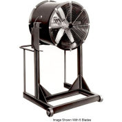 "Americraft 48"" Steel Propeller Fan With High Stand 48DSL-10H-3-TEFC 10 HP 42000 CFM"