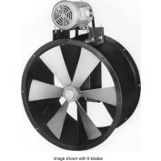 "60"" Explosion Proof Wet Environment Duct Fan - 3 Phase 5 HP"