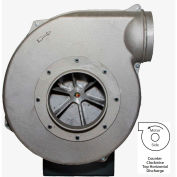 Americraft Aluminum Blower, HADP12-11/2-T-TE-CCWTH, 1-1/2 HP, 3 PH, TEFC, CCW, Top Horizontal