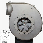 Americraft Aluminum Blower, HADP14-5-S-TE-CWTH, 5 HP, 1 PH, TEFC, CW, Top Horizontal