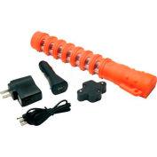LED Baton Road Flare Safety Orange Housing - Single Pack with Red LEDs - Pkg Qty 4
