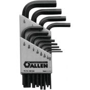 Short Arm Hex Key Sets, ALLEN 56080