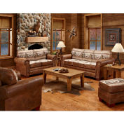 American Furniture Classics Alpine Lodge Set, Includes Sofa, Loveseat, Chair & Ottoman