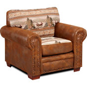 American Furniture Classics Alpine Lodge Chair, 100% Cotton Tapestry