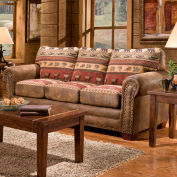 American Furniture Classics Sierra Lodge Sofa, 100% Cotton Tapestry