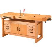 Sjobergs SJO-66922K - Elite Workbench 2000, Trestle and SJO-33464 Cabinet