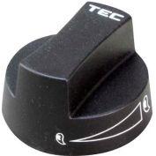 Knob 2 D, Off-On-(Sim) For TEC, TECY-SPCK2