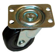 Plate Mount Caster, No Brake 2 W 1-7/8 x 2-5/16 For Fast, FAS150-20206